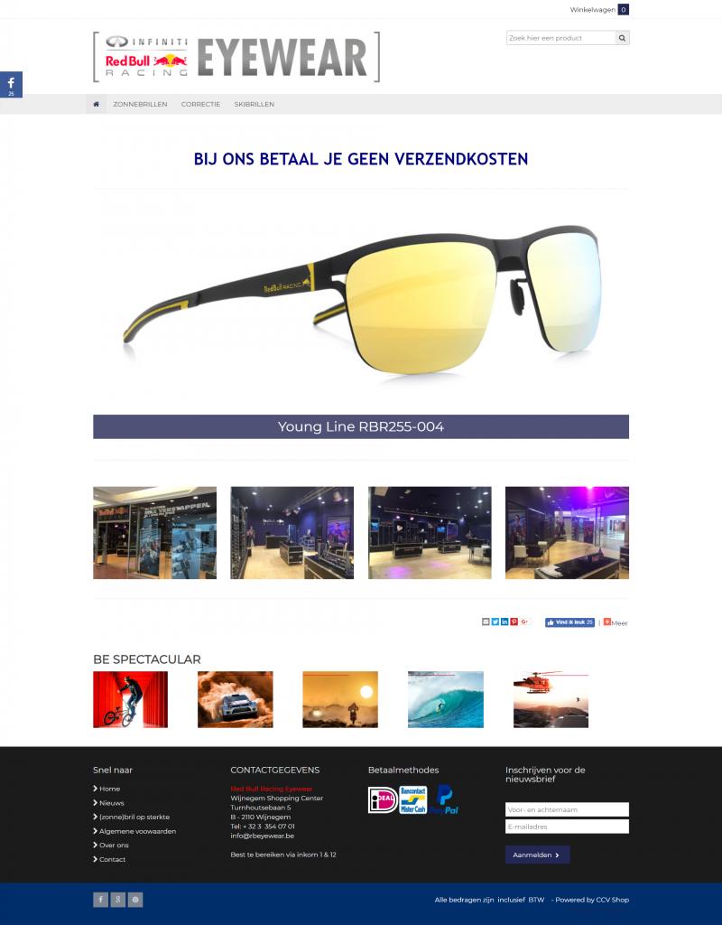RB Racing Eyewear Belgium